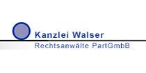 Logo: Kanzlei Walser Rechtsanwälte PartGmbB