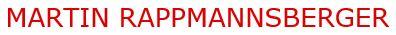 Logo: Martin Rappmannsberger