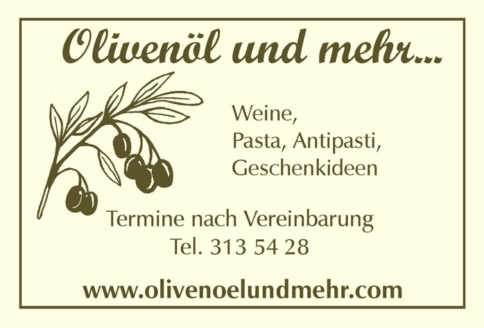 Logo: Olivenöl und mehr...