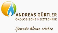 Logo: Gürtler - Ökologische Heiz- und Haustechnik