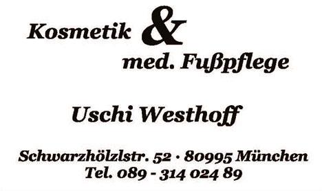 Logo: Kosmetik & med. Fußpflege Uschi Westhoff