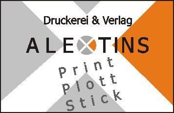 Logo: Druckerei & Verlag Alexander Tins
