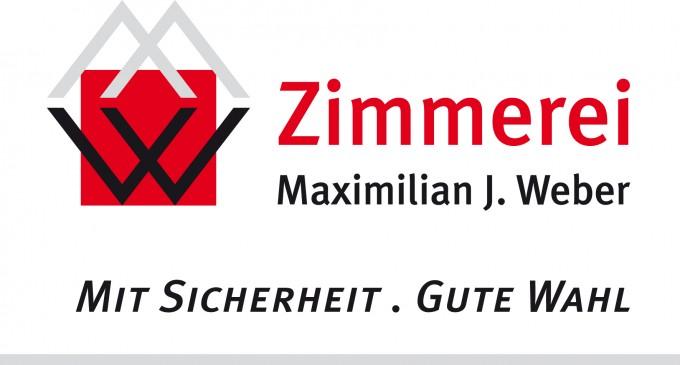 Logo: Zimmerei Maximilian J. Weber