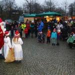 Weihnachtsmann auf dem Adventsmarkt 2014