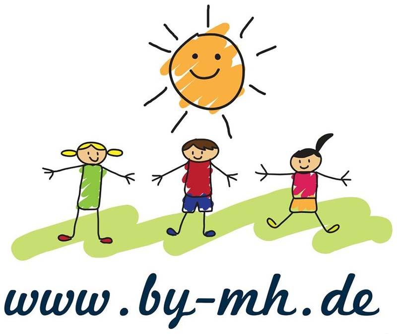 Logo: byMH - Melanie Hopfensberger