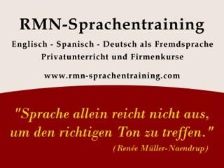 Logo: RMN - Sprachentraining | Renée Müller-Naendrup