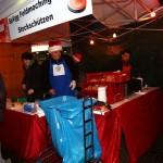 Adventsmarkt 2014 - Bratwurststand