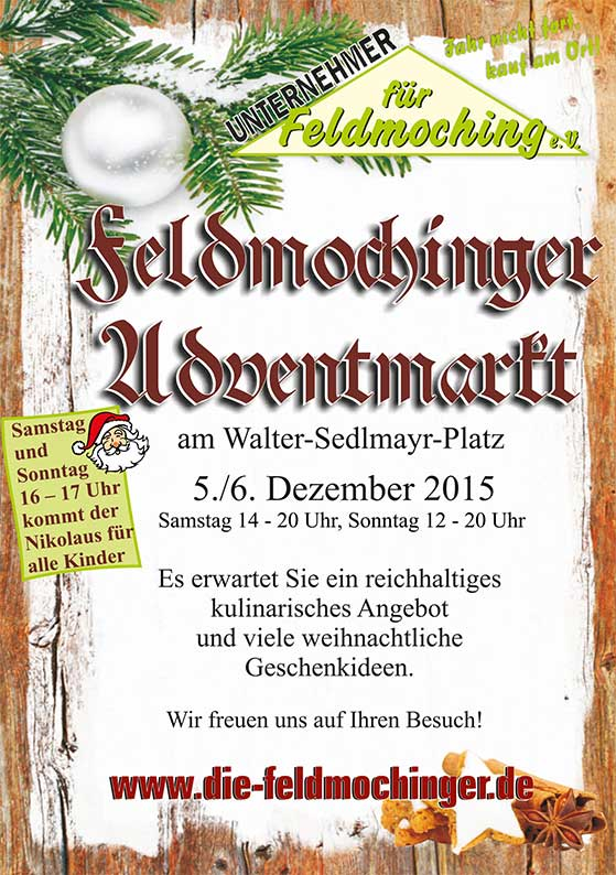Feldmochinger Adventsmarkt 2015