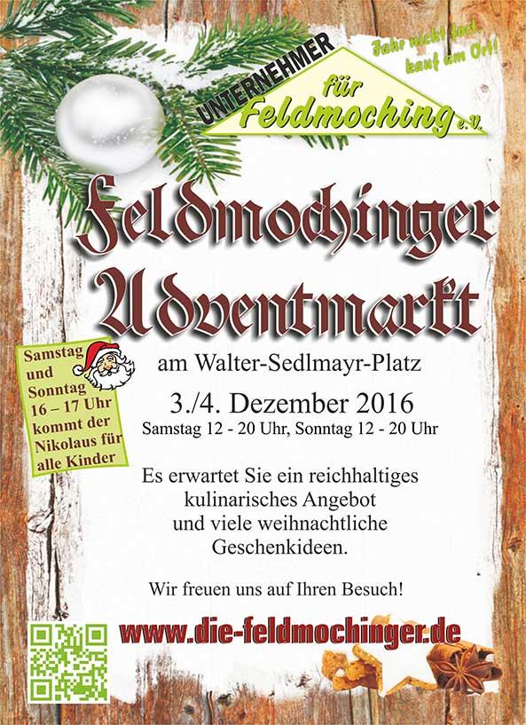 Adventsmarkt 2016 Flyer