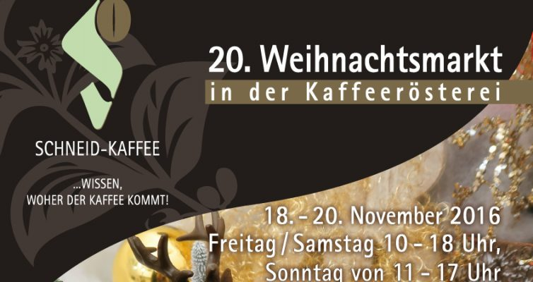 20. Weihnachtsmarkt Schneid-Kaffee