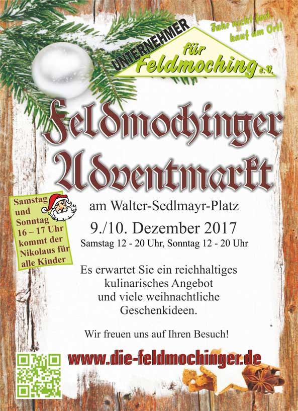 Feldmochinger Adventmarkt 2017 Flyer