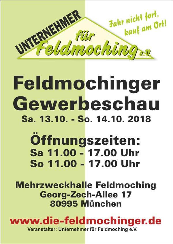 Unternehmer für Feldmoching: Feldmochinger Gewerbeschau 2018