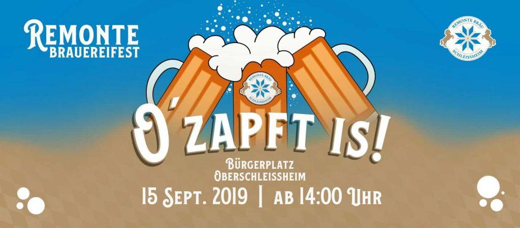 Remonte Brauereifest 2019